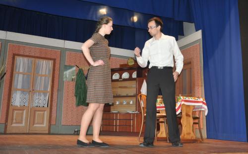 Divadelné predstavenie Trampoty s láskou